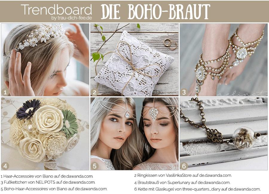 trendboard-trau-dich-fee-boho-braut