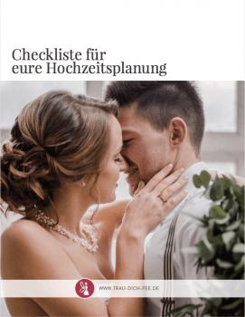 Checkliste Hochzeit von Trau-Dich-Fee